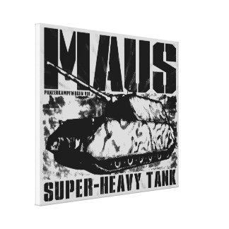 Panzer VIII Mausのキャンバスプリント キャンバスプリント