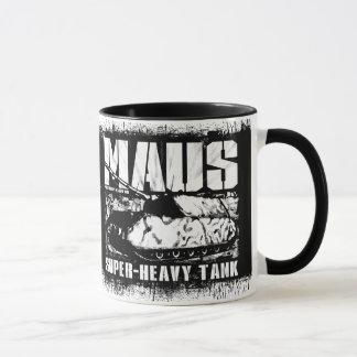 Panzer VIII Mausの信号器のコーヒー・マグ マグカップ