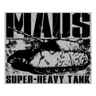 Panzer VIII Mausポスター ポスター