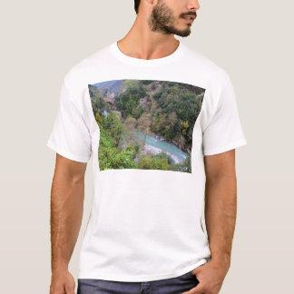 Papasideroの近くのFiumeのラオス語 Tシャツ