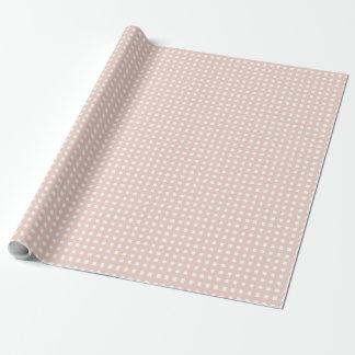 PAPER_PALEのミズキのピンクを包むシックなギンガム ラッピングペーパー