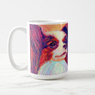 papillion 2のマグ コーヒーマグカップ