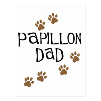 Papillonのパパ ポストカード