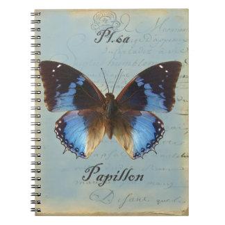 Papillonのブルー ノートブック