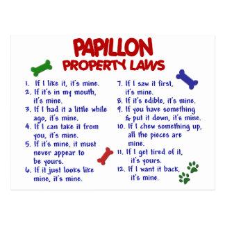 PAPILLONの特性の法律2 ポストカード