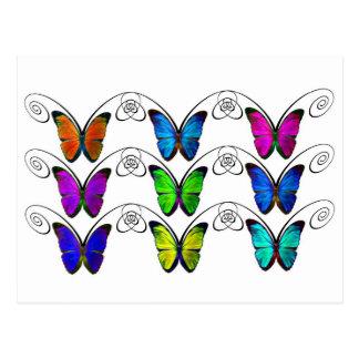 papillon ポストカード