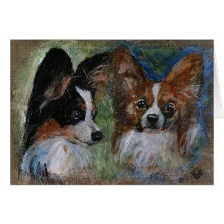 Papillon Dogs カード