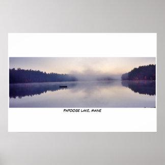 Papoose湖、メイン ポスター