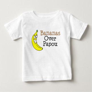 Papou上のバナナ ベビーTシャツ