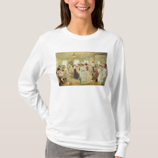 Paquin 1906年Cinq Heuresのchez le Couturier Tシャツ