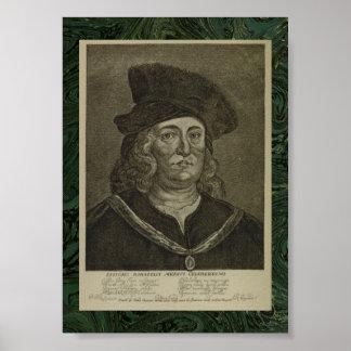 Paracelsus: 17世紀なOccultistのポートレート ポスター