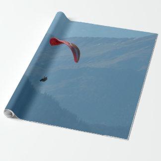 Paragliderのパラグライダーのパラグラフのグライド ラッピングペーパー