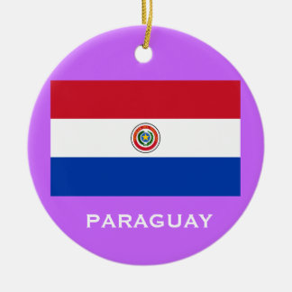 PARAGUAY*のカスタムなクリスマスのオーナメント セラミックオーナメント