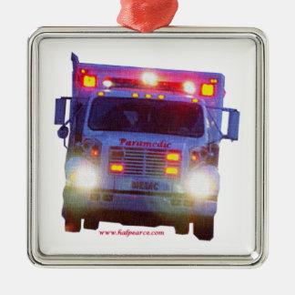 Paramedic_Truck メタルオーナメント