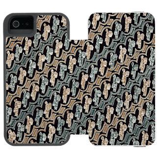 Parang Gendong Jamuのろうけつ染め Incipio Watson™ iPhone 5 財布 ケース