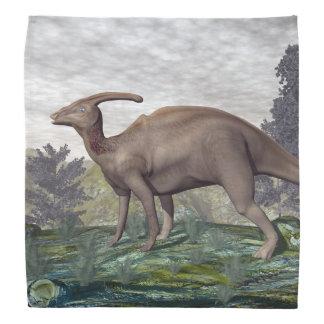 Parasaurolophusの恐竜- 3Dは描写します バンダナ