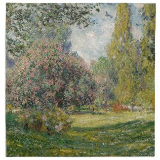Parc Monceau -クロード・モネを美化して下さい ナプキンクロス