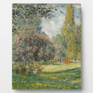 Parc Monceau -クロード・モネを美化して下さい フォトプラーク