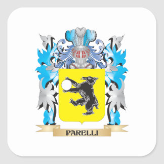 Parelliの紋章付き外衣-家紋 スクエアシール