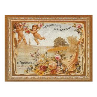 Parfumerie Britanniaのヴィンテージの広告 ポストカード