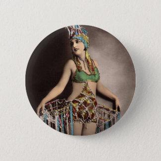 Parisienneのカジノのダンサー2 5.7cm 丸型バッジ