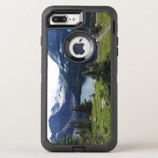park隠された湖は見落とします オッターボックスディフェンダーiPhone 8 plus/7 plusケース