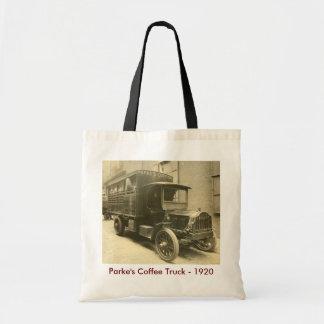 Parkeのコーヒートラック- 1920年 トートバッグ