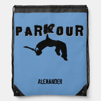 Parkourの鞍帯袋バックパック ナップサック