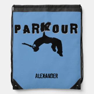 Parkourの鞍帯袋バックパック ナップザック