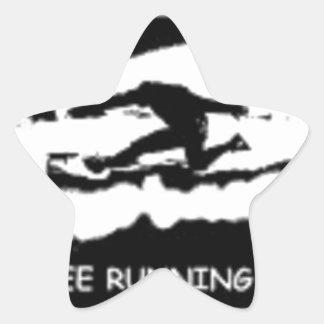 PARKOURはランニングを解放します 星シール