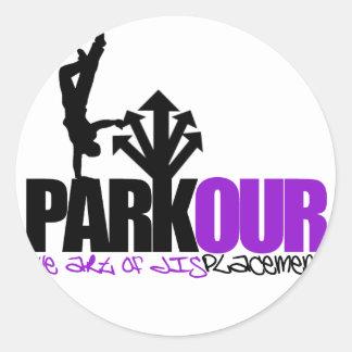 Parkour ラウンドシール