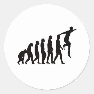 Parkour (自由なランニング)の進化 ラウンドシール