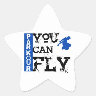 Parkour -飛ぶことができます 星シール