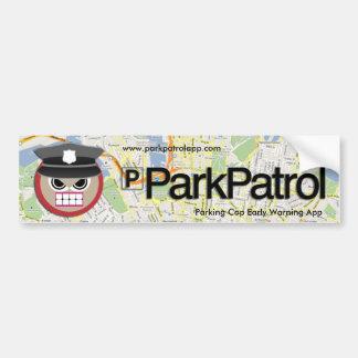 ParkPatrolのバンパーステッカー バンパーステッカー