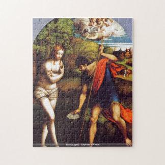 Parmaiggani -キリストのパズルの洗礼 ジグソーパズル