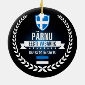Pärnu セラミックオーナメント