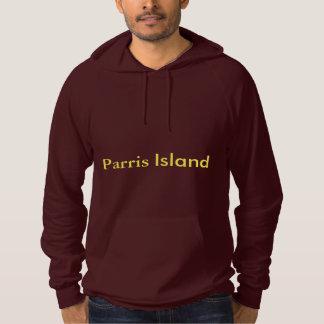 parrisの島のフード付きスウェットシャツ パーカ
