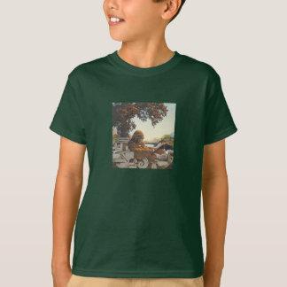 Parrishの古い蔵書票 Tシャツ