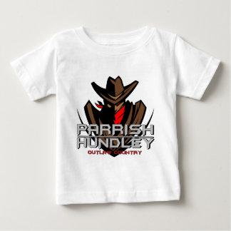 Parrish-Hundleyの違法の国の乳児のTシャツ ベビーTシャツ