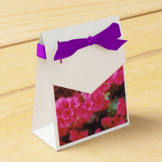 Party Favor Bag with Bright Pink Azaleas フェイバーボックス