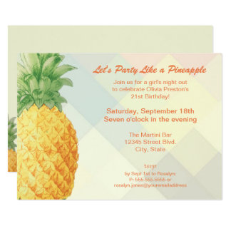 Party Like a Pineapple | Invitation Card カード