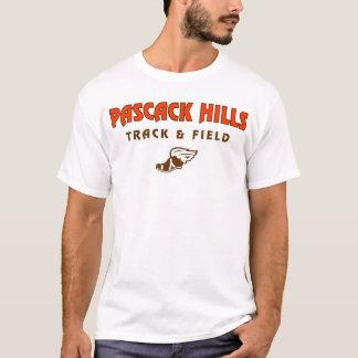 Pascackの丘の陸上競技のワイシャツ Tシャツ
