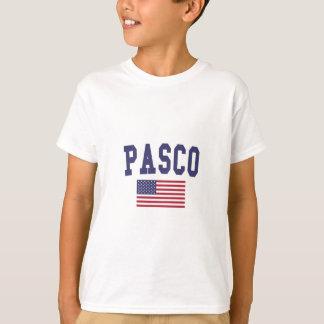 Pasco米国の旗 Tシャツ