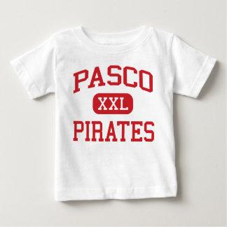 Pasco -海賊-高等学校- Dade都市フロリダ ベビーTシャツ