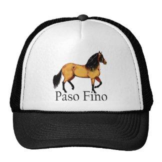 Pasoの馬のBuckskin Paso Fino キャップ