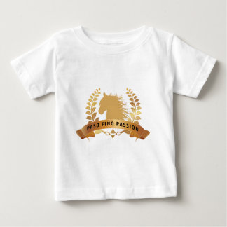 Paso Finoの情熱の金ゴールド ベビーTシャツ