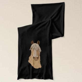 Paso Finoの馬の顔 スカーフ
