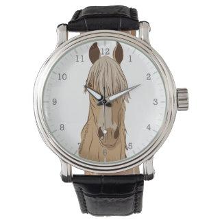 Paso Finoの馬の顔 腕時計