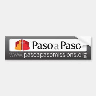 Paso Pasoの代表団サポートバンパーステッカー バンパーステッカー