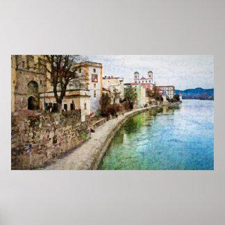 Passau、ドイツのポスター ポスター